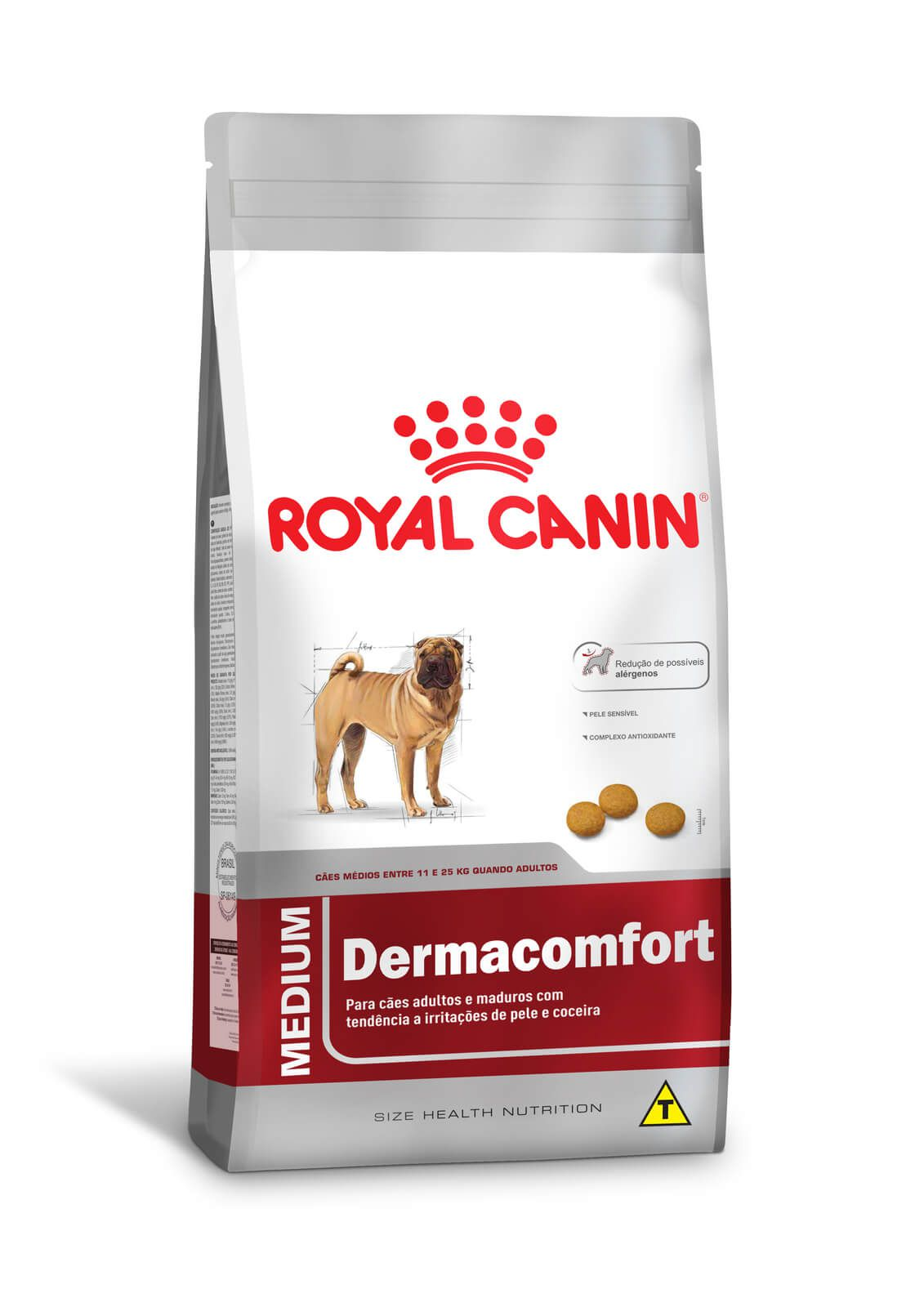 Ração Royal Canin Medium Dermacomfort (Raças Médias) 10,1kg