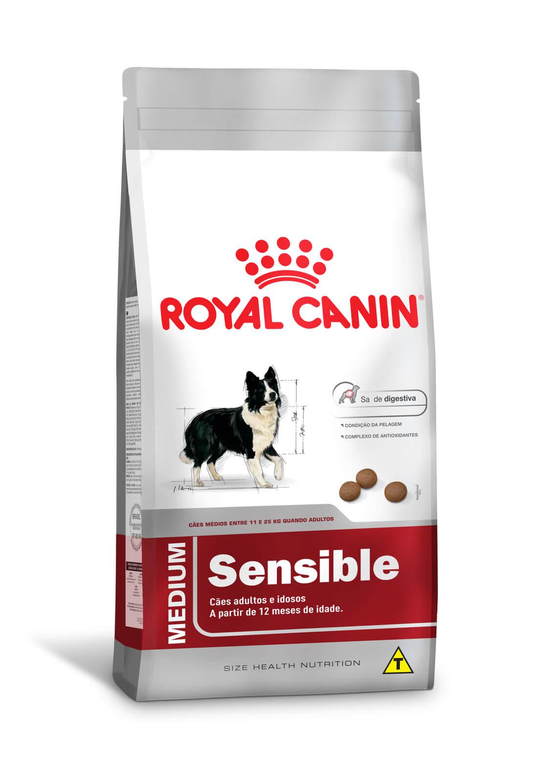 Ração Royal Canin Medium Sensible (Raças Médias) 15kg