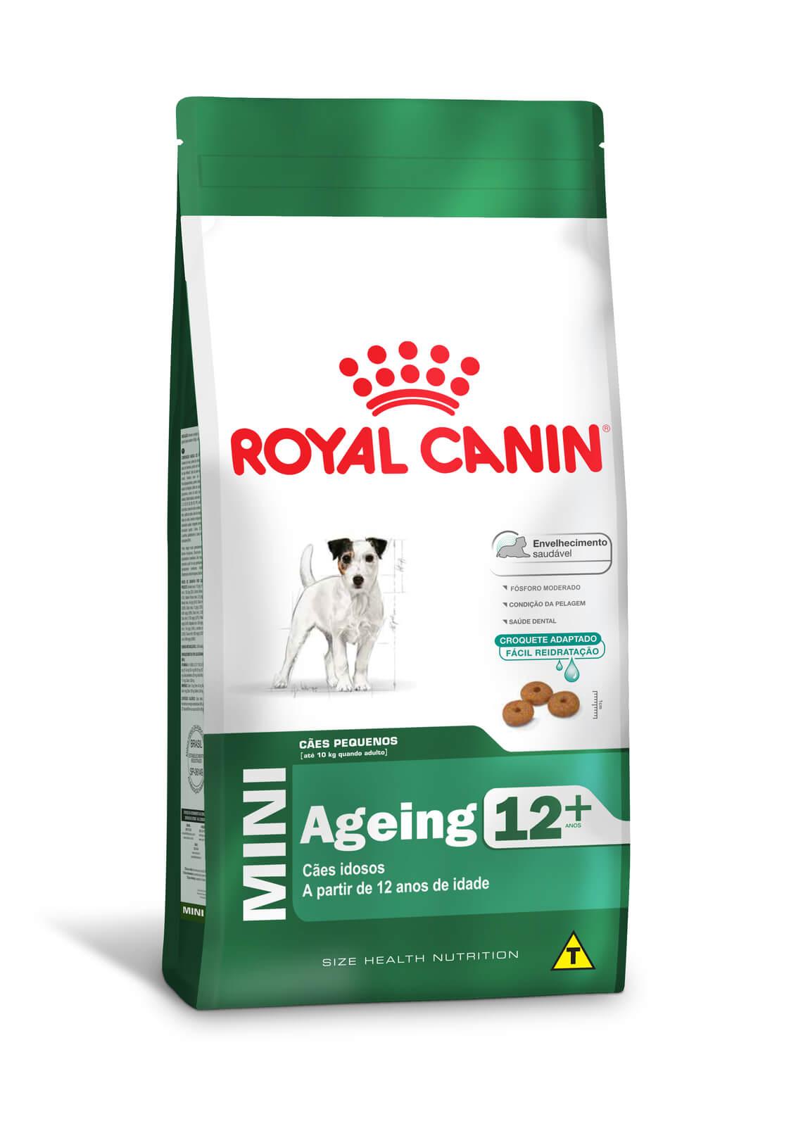 Ração Royal Canin Mini Ageing 12+  - 2,5kg