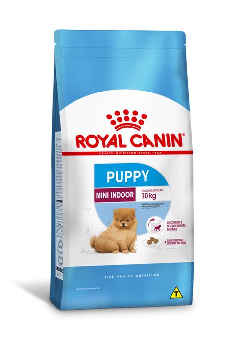 Ração Royal Canin Mini Indoor Puppy (Filhotes Raças Pequenas)