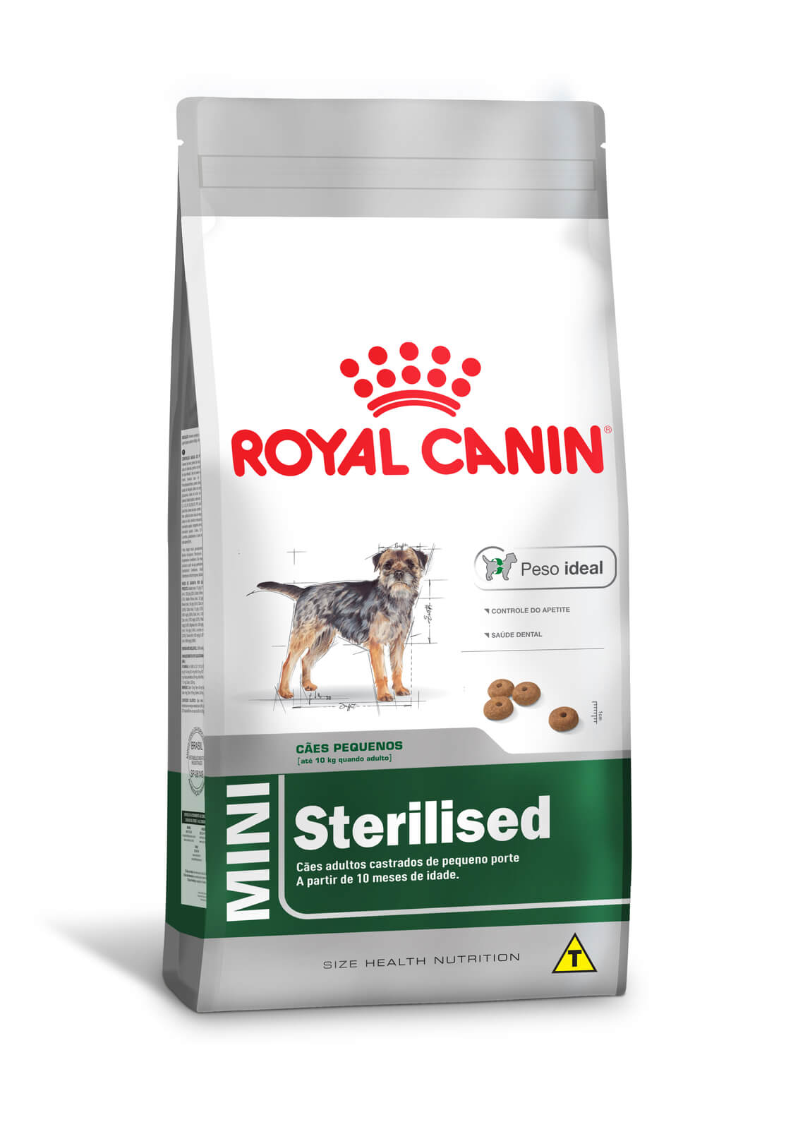 Ração Royal Canin Mini Sterilised - 2,5 kg