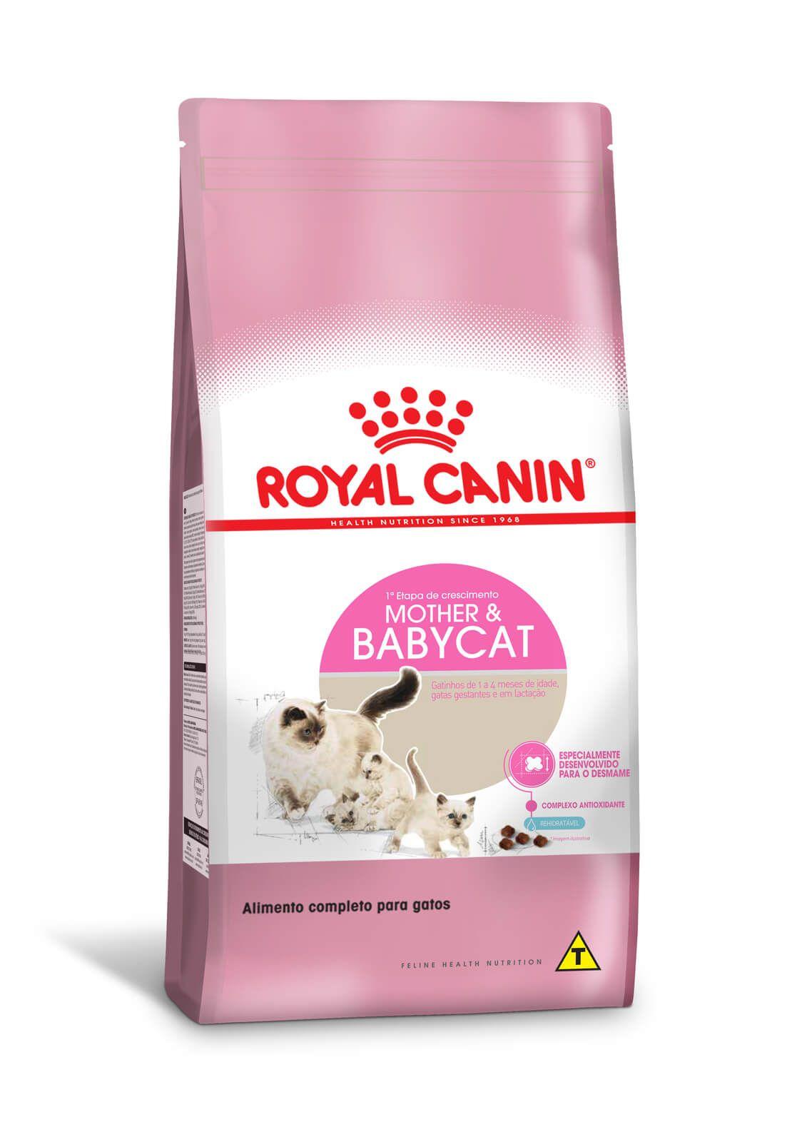 Ração Royal Canin Mother & Babycat - Gatos (mãe e/ou filhotes)