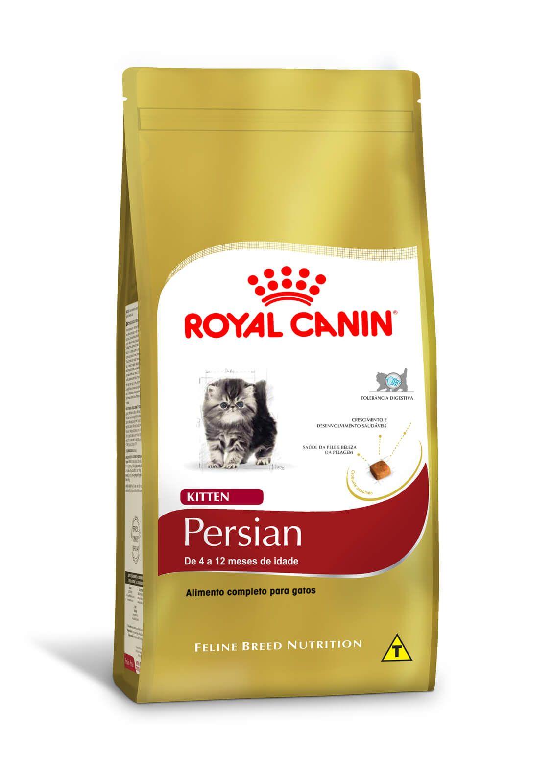 Ração Royal Canin Persian Kitten/Filhotes - 1,5 kg