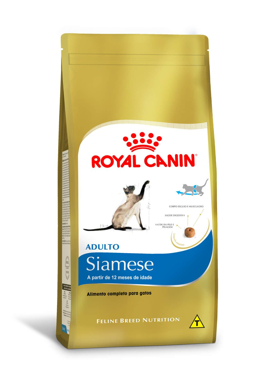 Ração Royal Canin Siamese Adulto - 1,5 kg