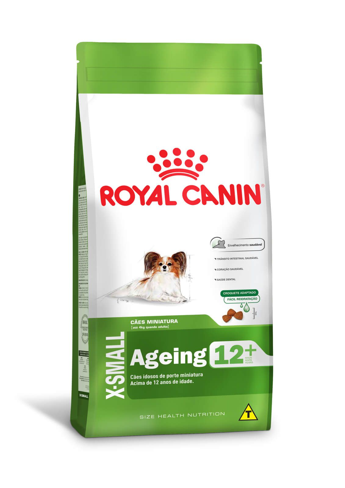 Ração Royal Canin X-Small Adult 12+  - 2,5kg