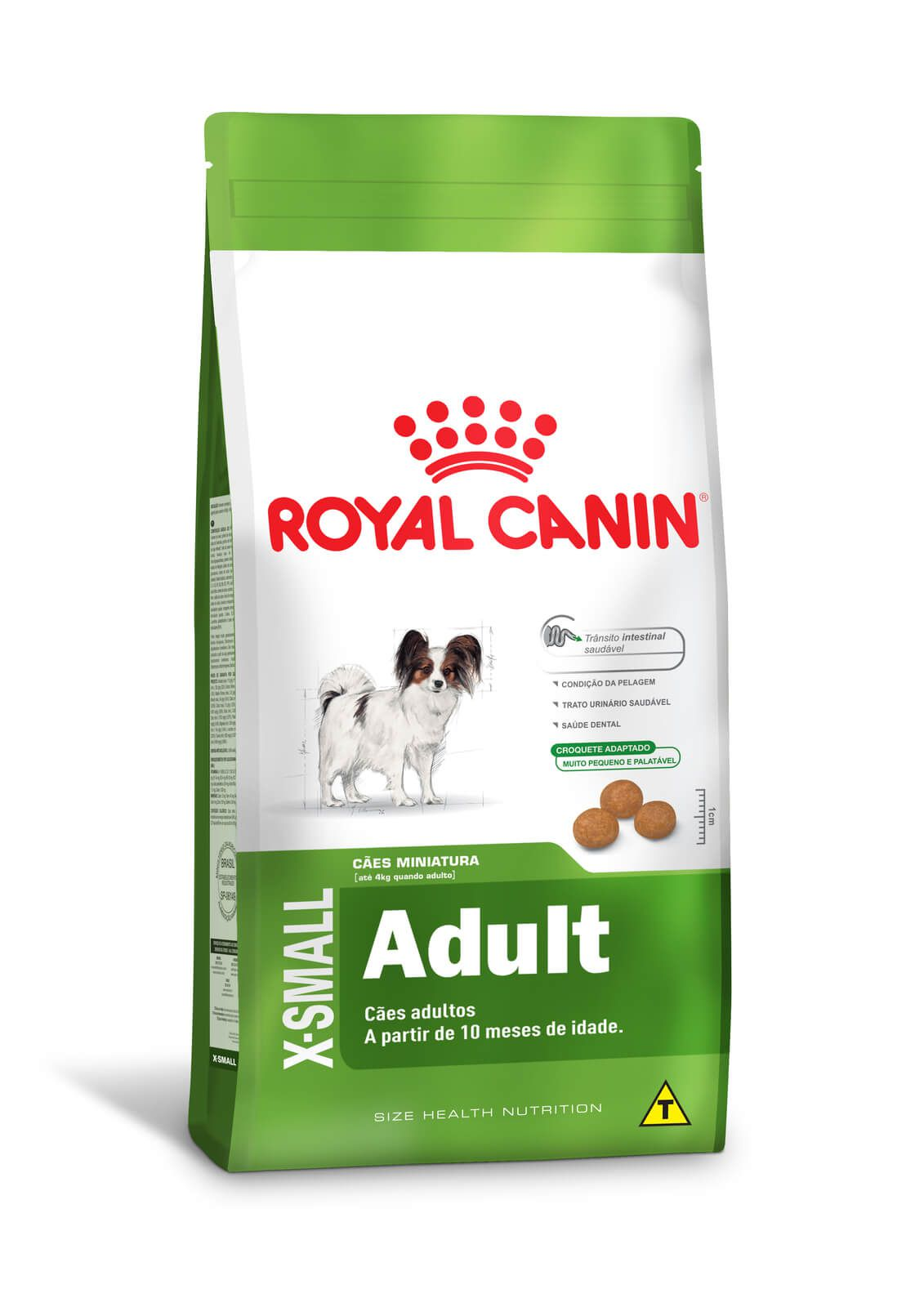Ração Royal Canin X-Small Adult - 2,5kg