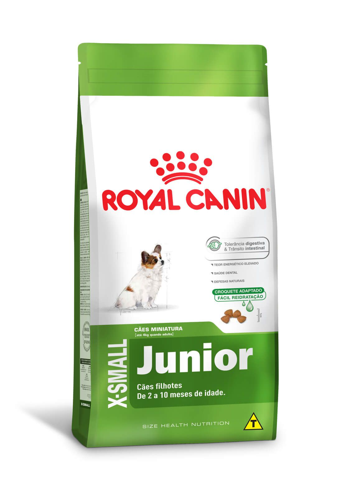 Ração Royal Canin X-Small Junior - 2,5kg