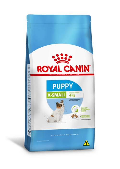 Ração Royal Canin X-Small Puppy  - 2,5kg
