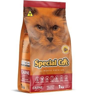 Ração Special Cat Carne Adultos  10,1 kg