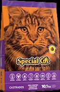 Ração Special Cat Castrados 10,1 kg