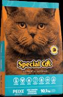 Ração Special Cat Peixe  Adultos 10,1kg