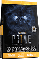 Ração Special Cat Prime Filhotes Frango e Arroz - 10,1 kg
