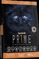 Ração Special Cat Prime Filhotes Salmão e Arroz - 10,1 kg