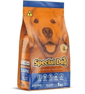 Ração Special Dog Carne Adultos