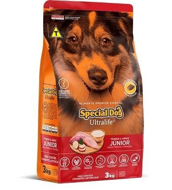 Ração Special Dog Júnior para porte médio ou grande - 15 kg