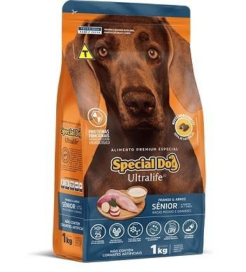 Ração Special Dog Senior para porte médio ou grande - 15 kg