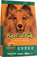 Ração Special Dog Vegetais Adultos