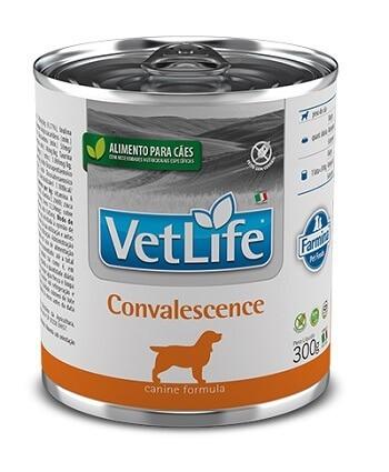 Ração Úmida em lata - Farmina Vet Life Convalescense para cães - 300g
