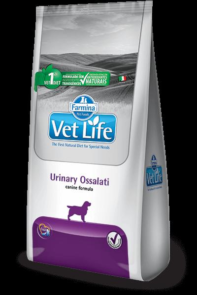 Ração Vet Life Urinary Ossalati Canine