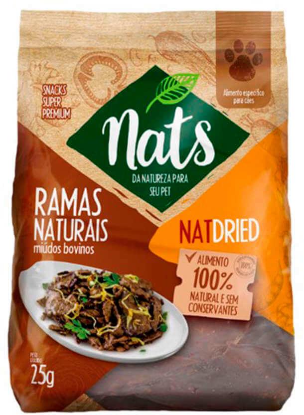 Ramas Naturais Nats NatDried - 25g