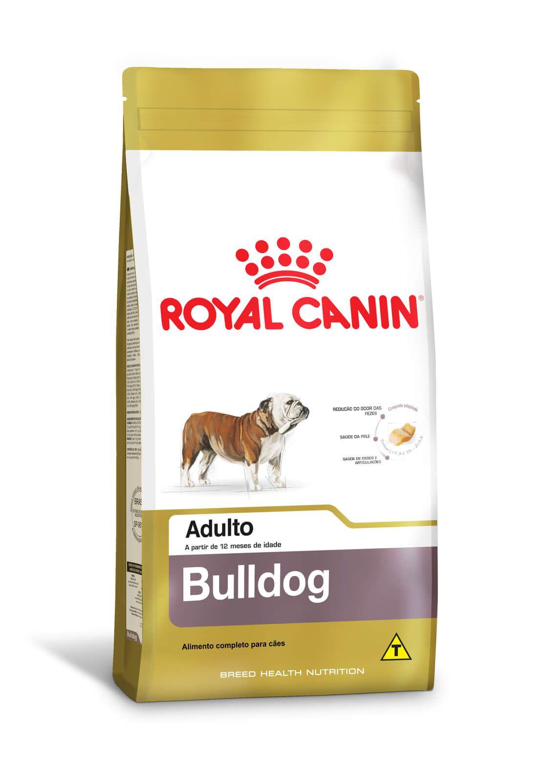 Ração Royal Canin Bulldog Adult 12kg