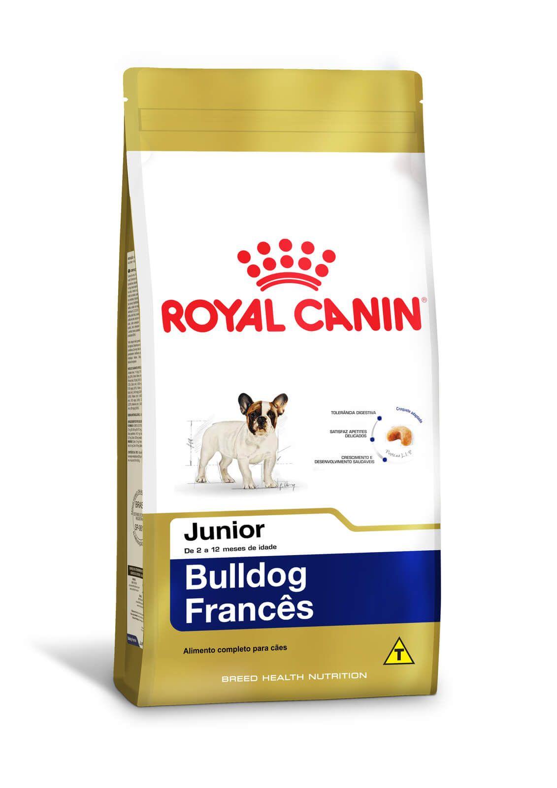 Ração Royal Canin Bulldog Francês Junior 2,5 kg