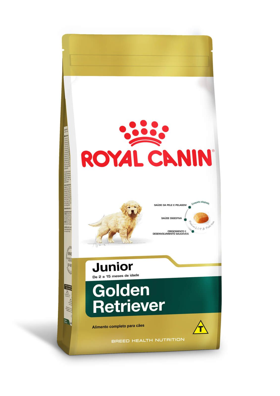 Ração Royal Canin Golden Retriever Junior 12kg