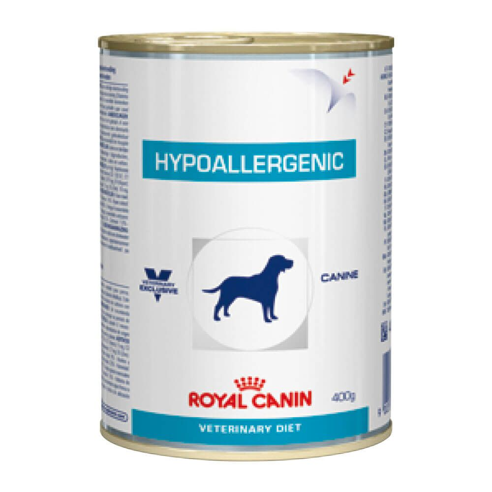 Royal Canin Hypoallergenic Wet Canine - Alimento úmido - lata 400 gr