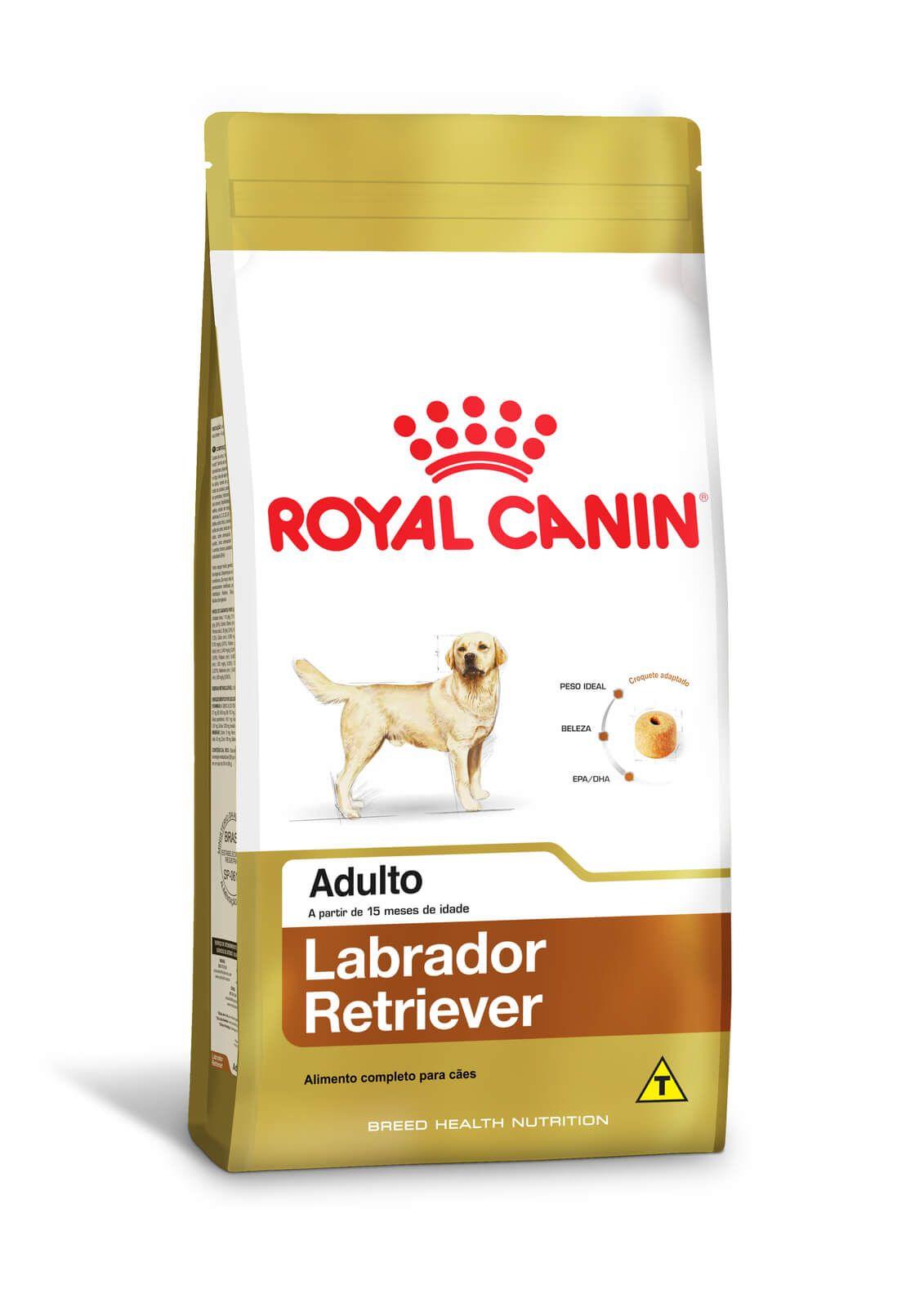 Ração Royal Canin Labrador Retriever Adult 12kg