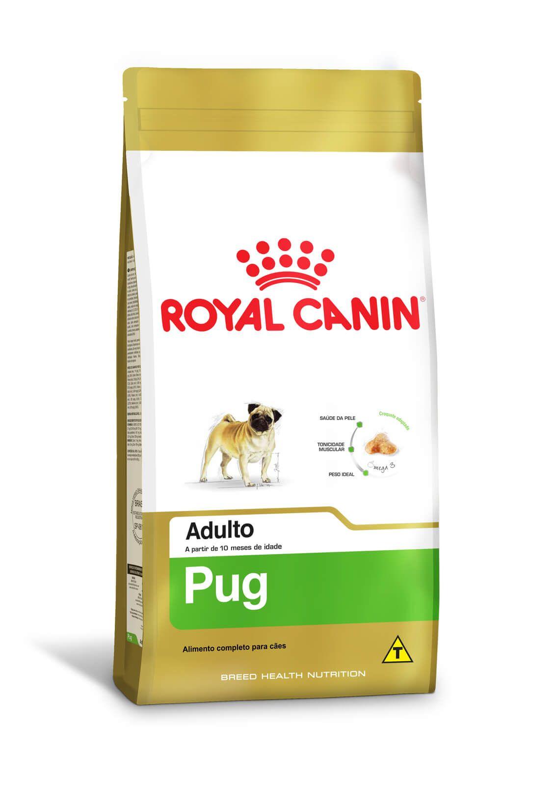 Ração Royal Canin Pug