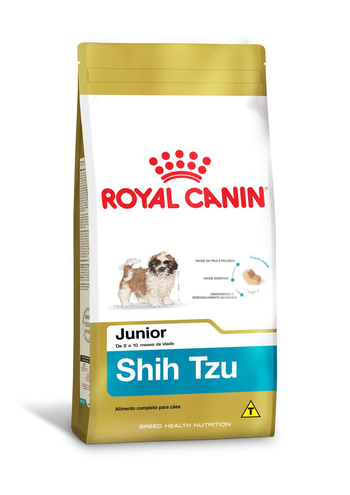 Ração Royal Canin Shih Tzu Junior - 2,5kg