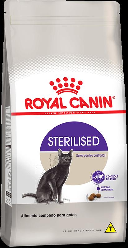 Ração Royal Canin Sterilised - Gatos Castrados