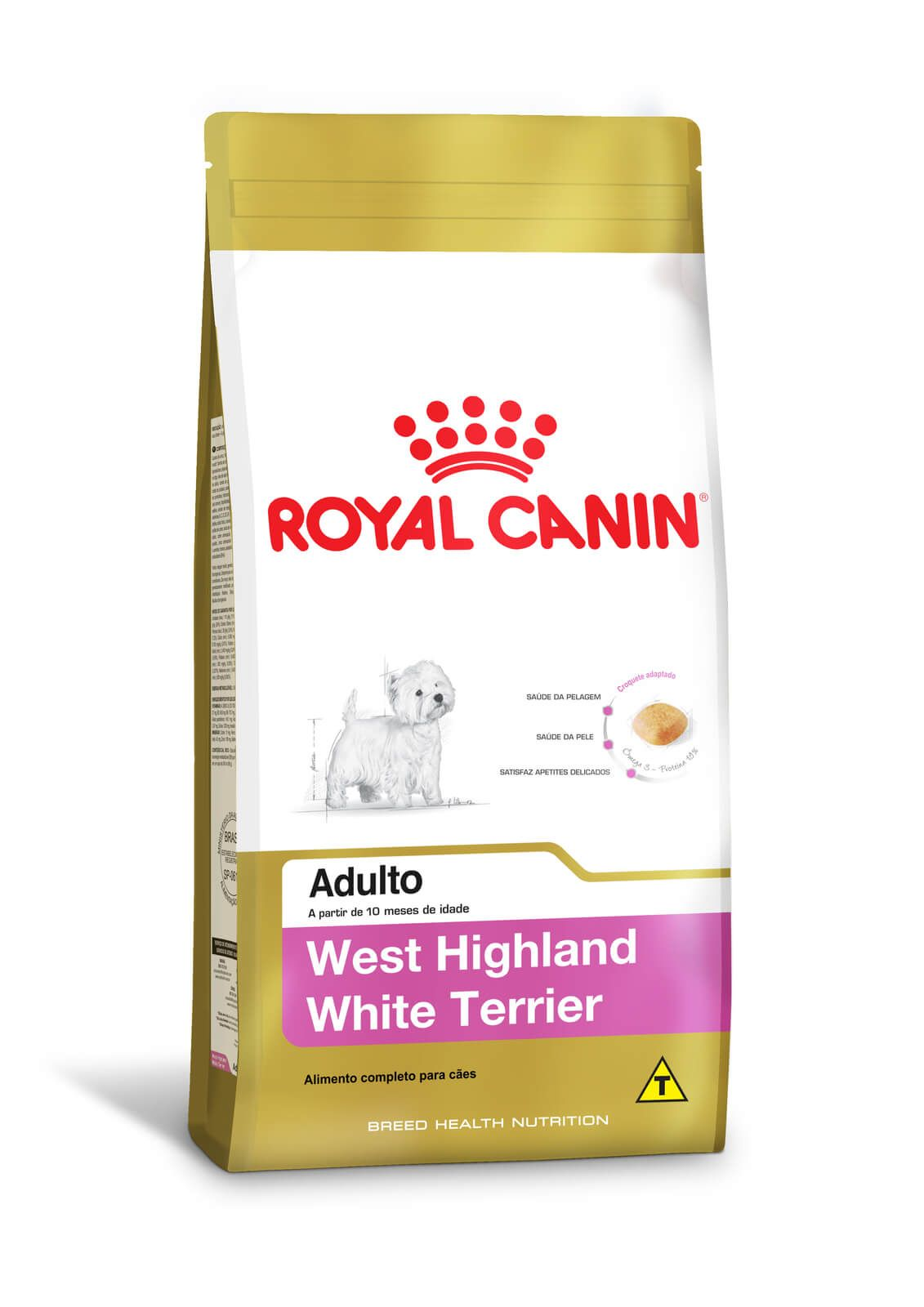 Ração Royal Canin West Highland White Terrier Adult 2,5 kg