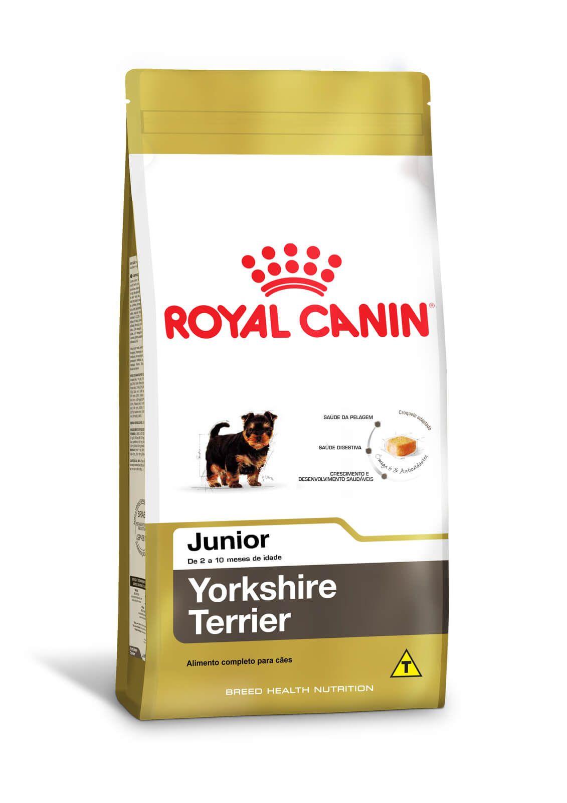 Ração Royal Canin Yorkshire Terrier Junior - 2,5kg