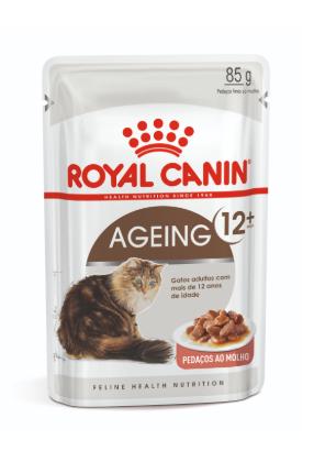 Sachê Royal Canin Ageing 12+  - Gatos Sênior/Idosos - 85g