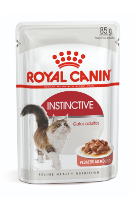 Sachê Royal Canin Instinctive - Gatos Adultos - 85g