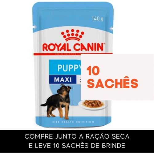 Sachê Royal Canin Maxi Puppy - Para cães filhotes 140 g