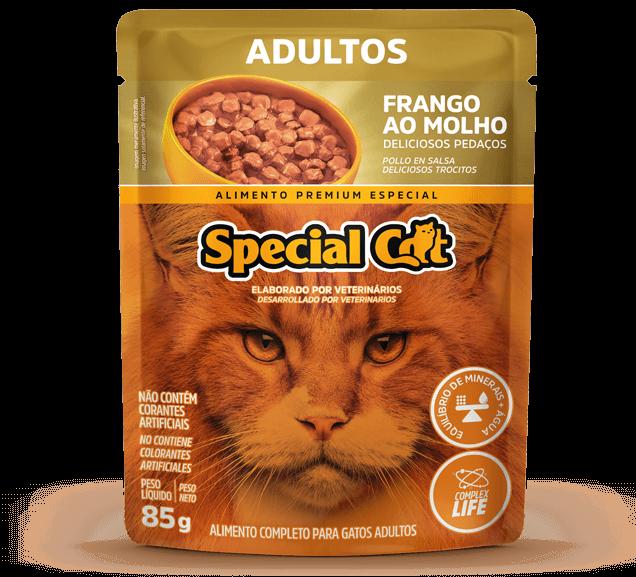Sachê Special Cat Adultos Sabor Frango - 85g