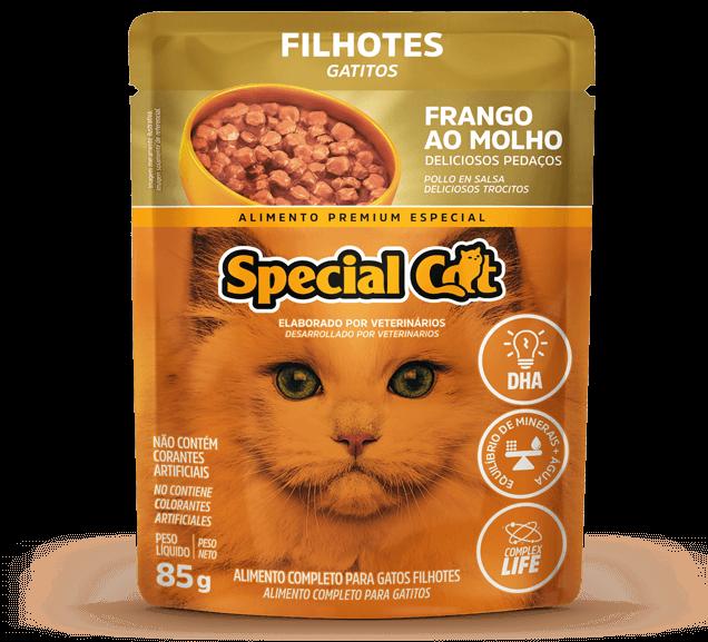 Sachê Special Cat Filhotes Sabor Frango - 85g