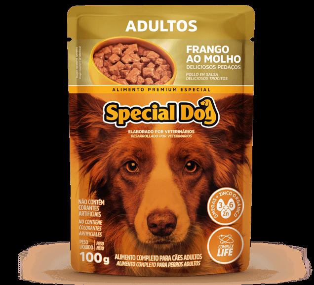 Sachê Special Dog Adultos Sabor Frango - 100g