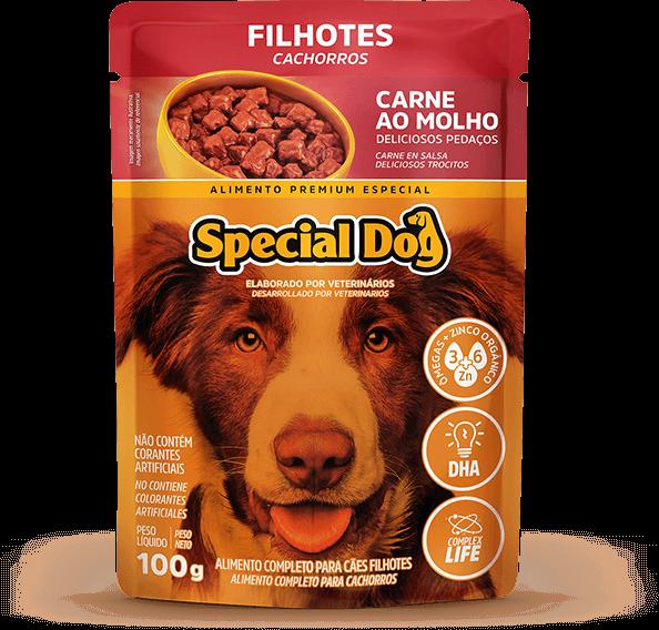 Sachê Special Dog Filhotes Sabor Carne - 100 g