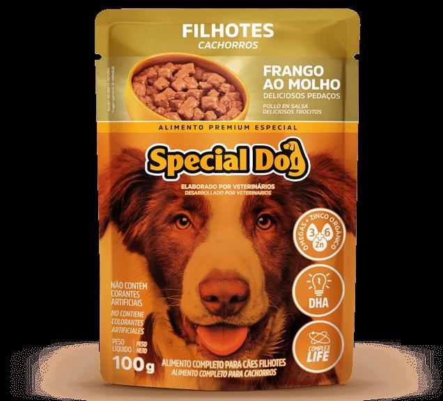 Sachê Special Dog Filhotes Sabor Frango - 100 g