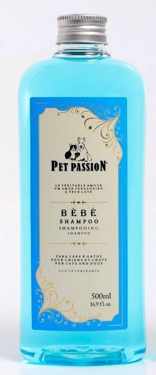 Shampoo Pet Passion BÉBÉ - Cães e Gatos - 500 mL