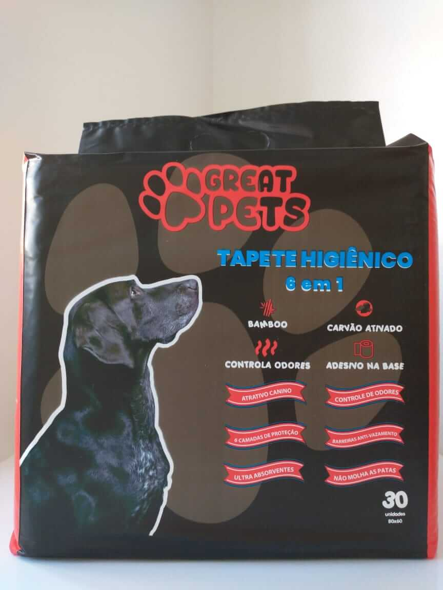 Tapete Higiênico para cães Great Pets com 30 un.