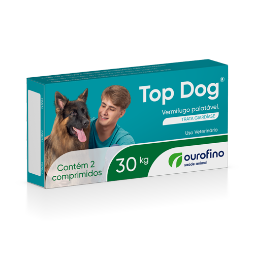 Vermífugo Top Dog Cães