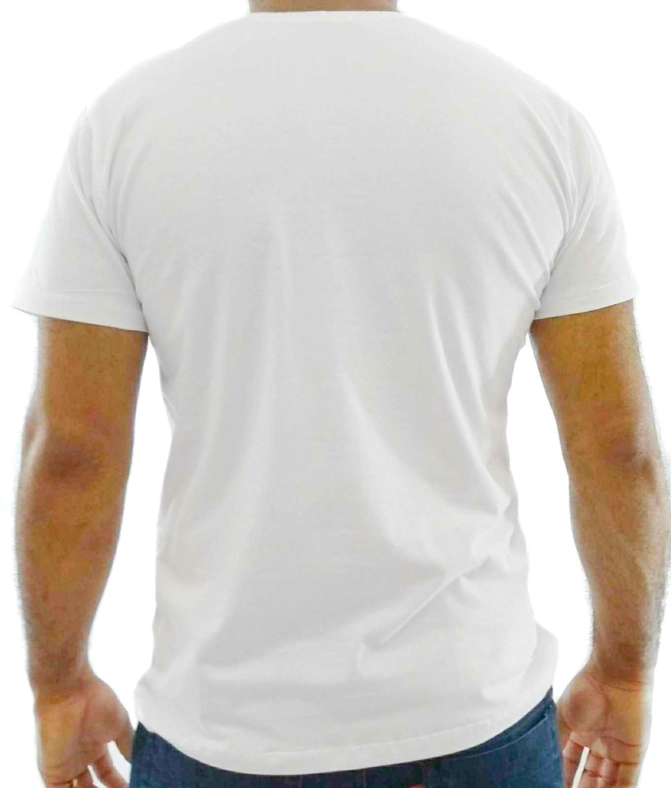 d1fea0297a Camiseta Básica Masculina Branca Algodão Egípcio. Image description · Image  description