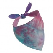 Bandana Pet Tie Dye Purple