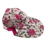Boné Pet Flores Pink