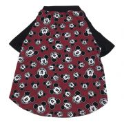 Camiseta Raglan Pet Mickey