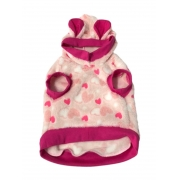 Moletom Pet Bear Fleece Rosa